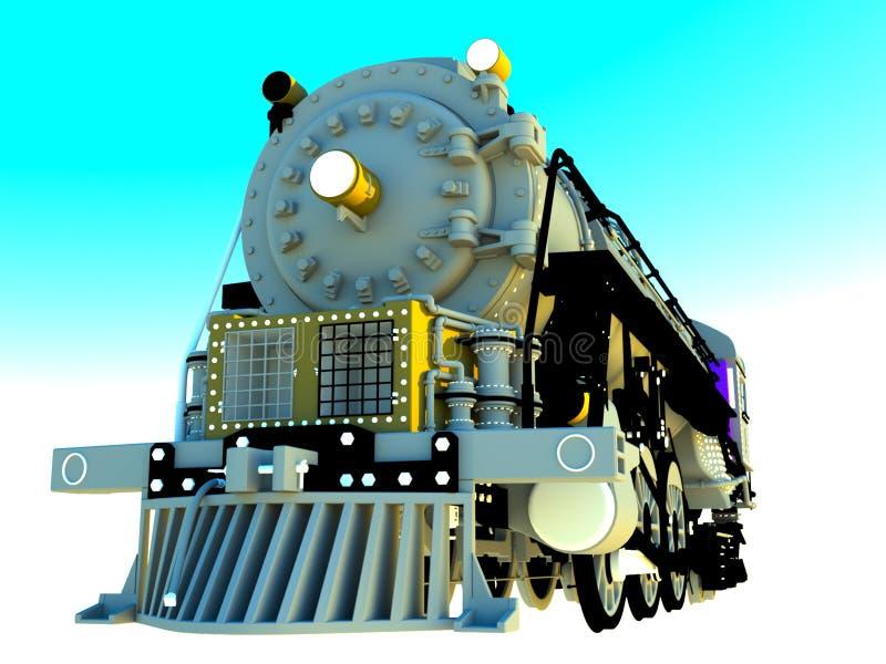 Vintage Locomotive Engine Royalty Free Stock Photos