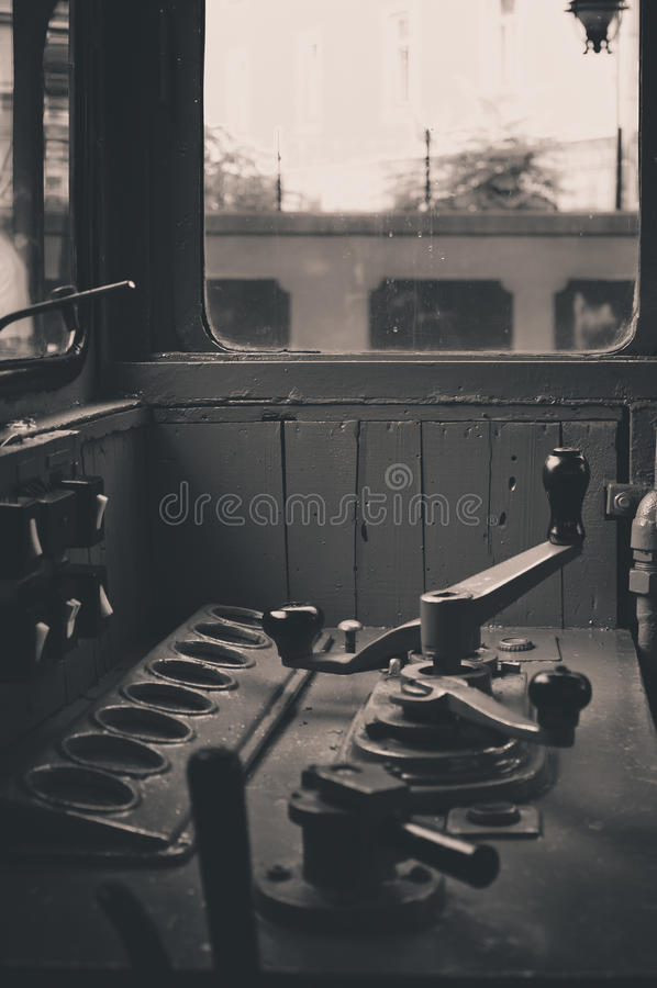 Vintage locomotive royalty free stock photography
