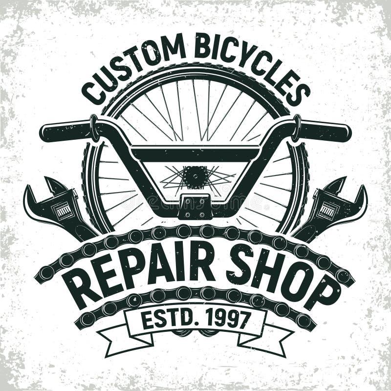 Vintage logo design stock illustration