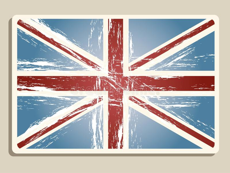 Download Vintage london flag stock vector. Image of vector, flag - 25630545