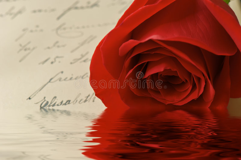 Download Vintage Love Letter Reflections Royalty Free Stock Photography - Image: 1719737