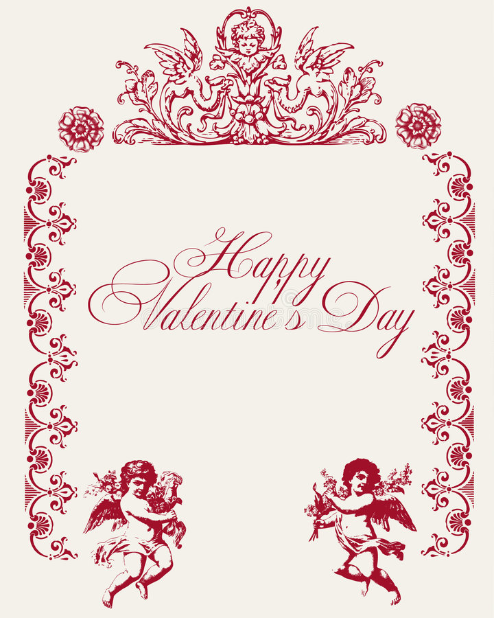 Download Vintage Love Vector Background Royalty Free Stock Images - Image: 7577089