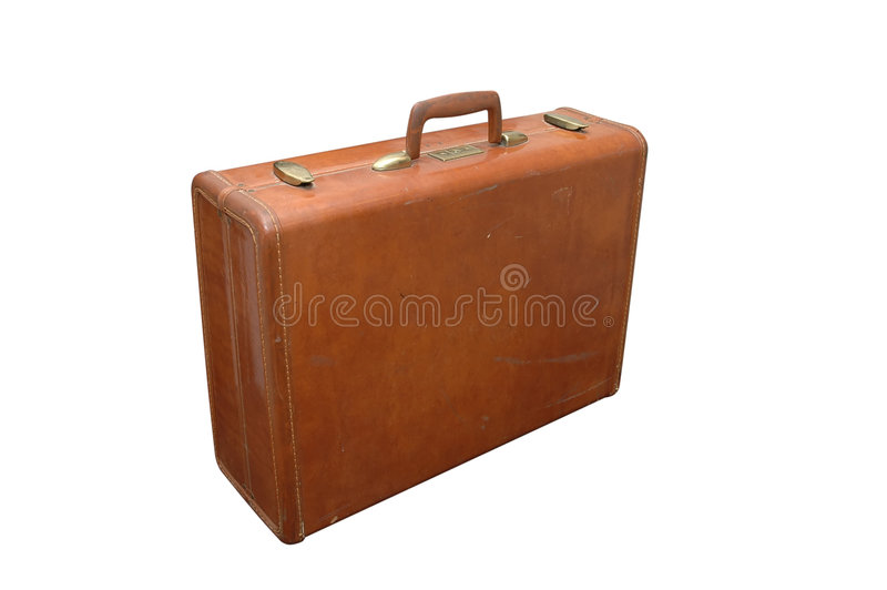 Download Vintage Luggage 2 stock photo. Image of leave, trip, path - 1488072