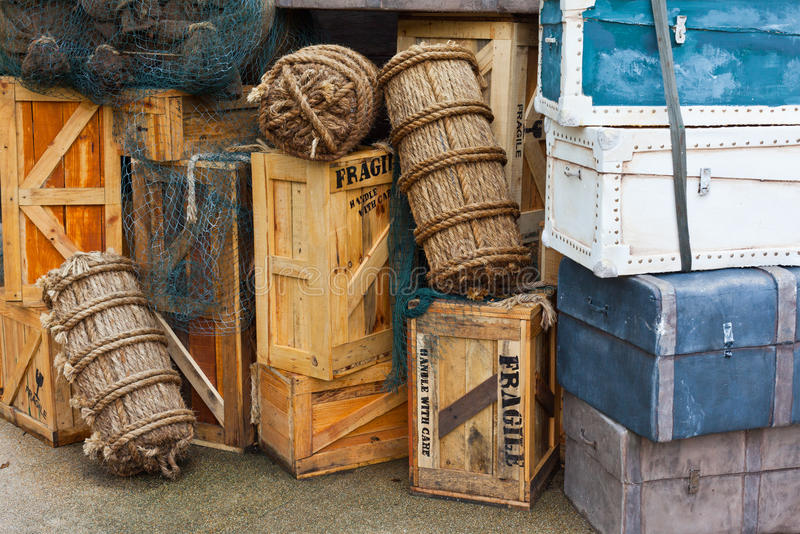 Download Vintage luggage stock image. Image of fashioned, sack - 21941299