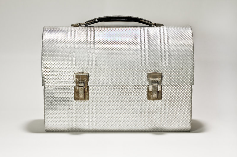 Download Vintage Lunch Box stock photo. Image of object, handle - 6804644