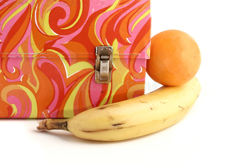Vintage Lunchbox Royalty Free Stock Image