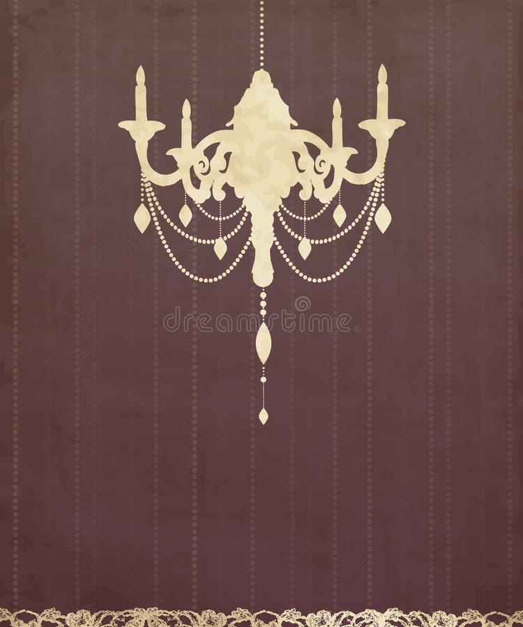 Download Vintage luxury chandelier stock vector. Image of design - 21127063