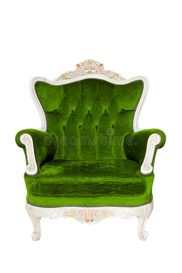 Vintage luxury Green sofa