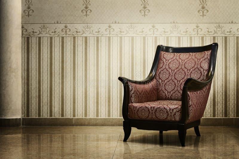 Vintage luxury interior royalty free stock image