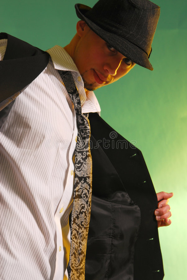Download Vintage man 3 stock photo. Image of neck, vintage, content - 3642520