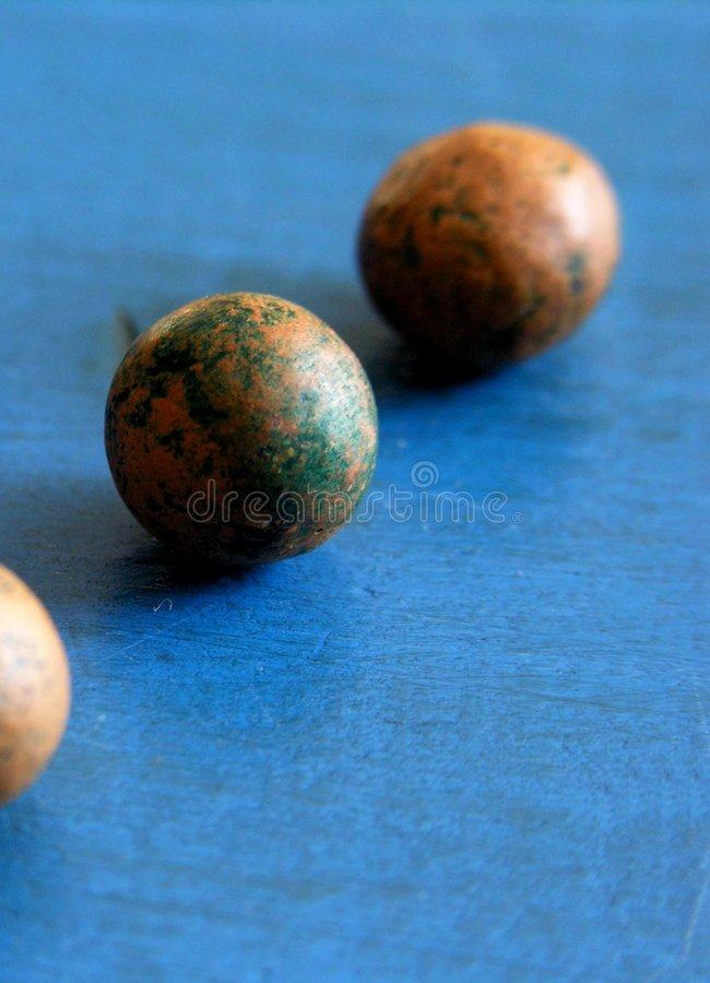 Vintage marbles royalty free stock photography