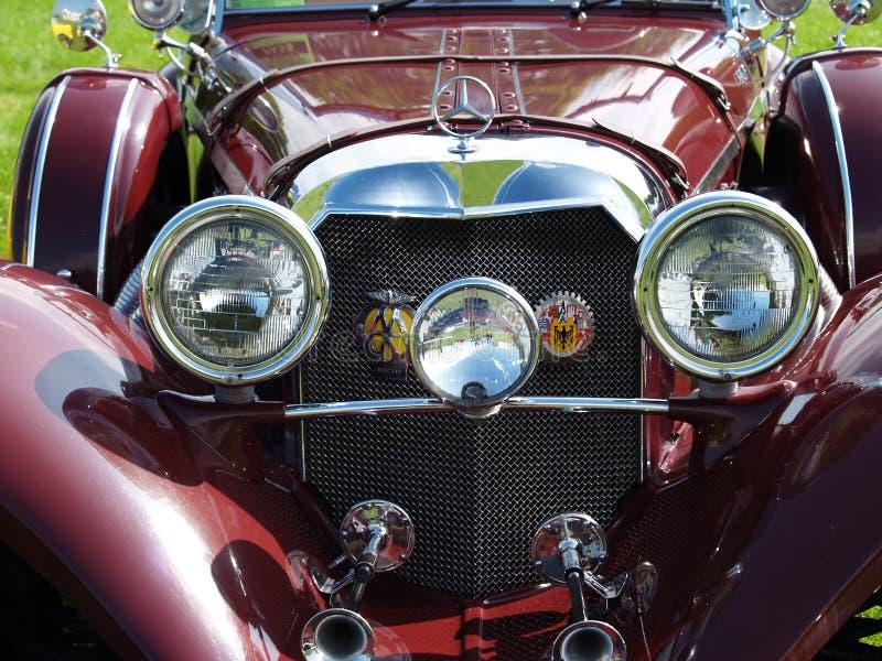 Vintage Mercedes fotos de stock