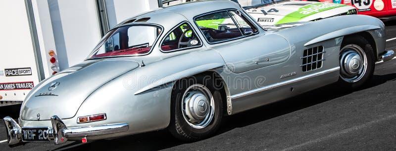 Vintage Mercedes-Benz 300 SL Gullwing fotografia de stock royalty free