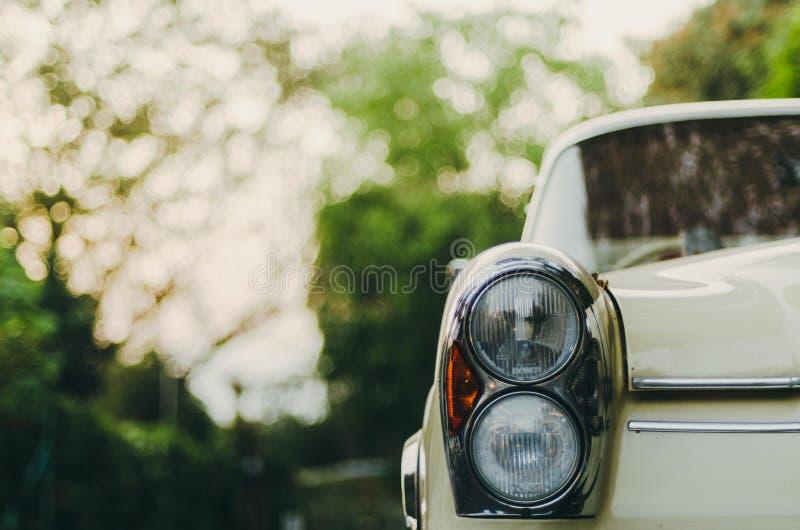 Vintage Mercedes stock image