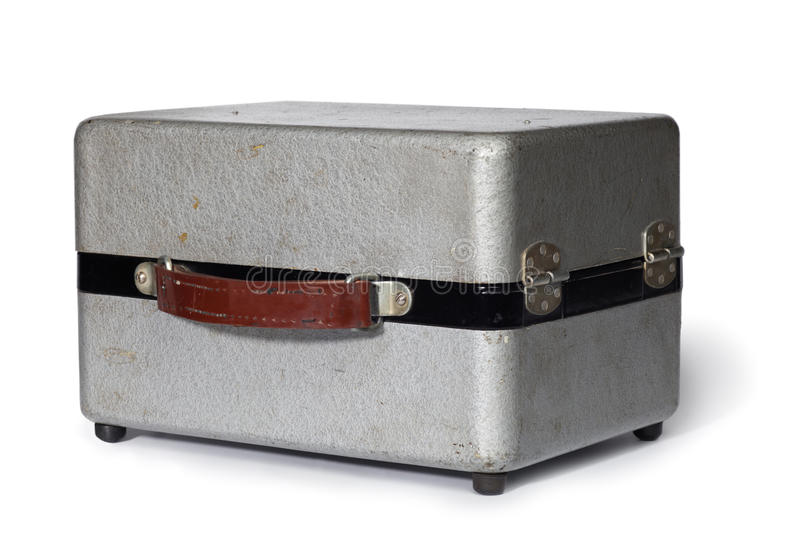 Download Vintage metal gray case stock image. Image of ancient - 20524955