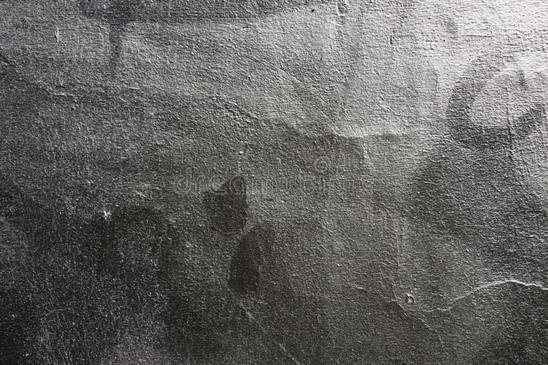 The vintage metallic paint gray silver color textured background wall royalty free stock images