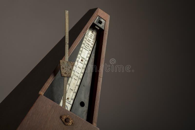 Vintage metronome stock photos