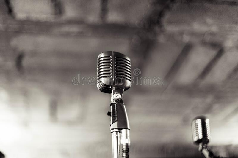 Vintage Microphone Picture  Image: 83014494