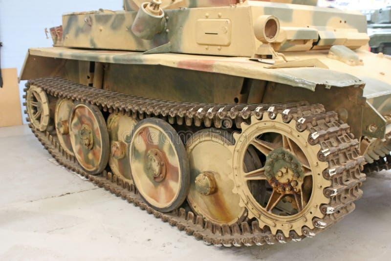 Vintage military tank royalty free stock photos