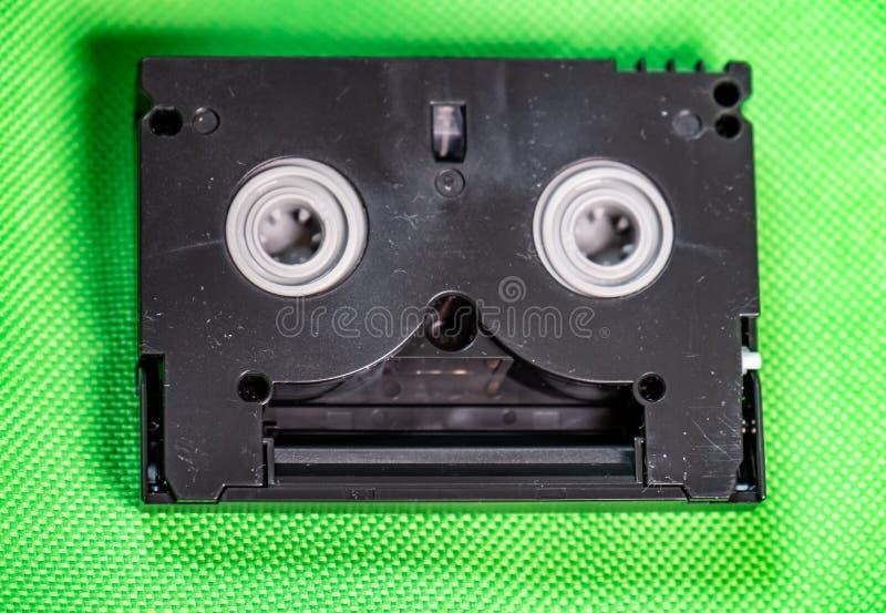 Vintage Mini DV cassette tape - Vintage technology concept royalty free stock image