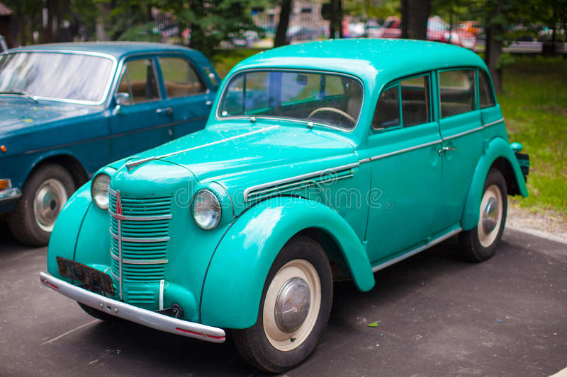 Download Vintage Mint Car On Display At The Park Stock Image - Image: 32914721
