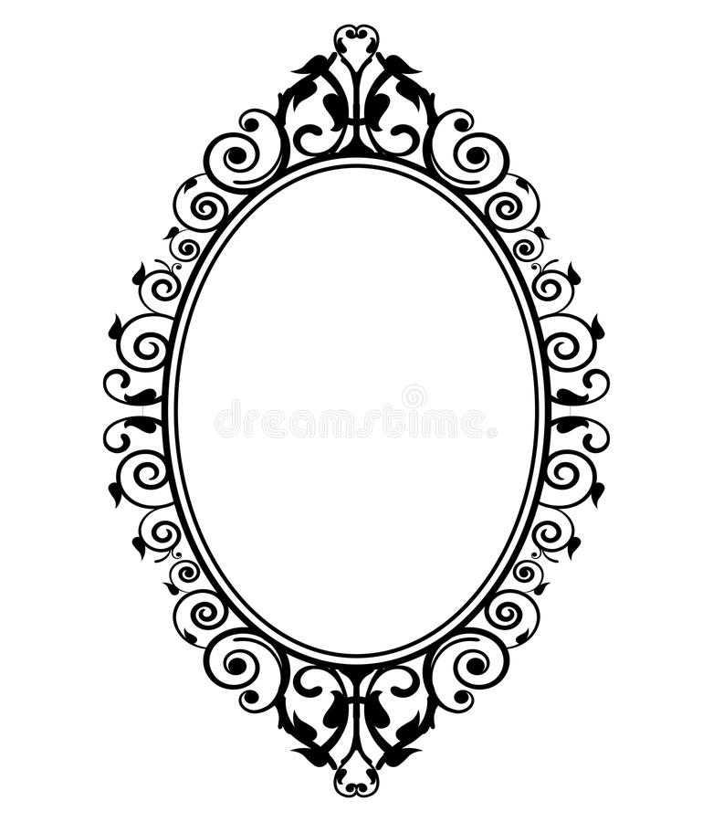 Free Vintage Mirror Stock Photo - 34181270