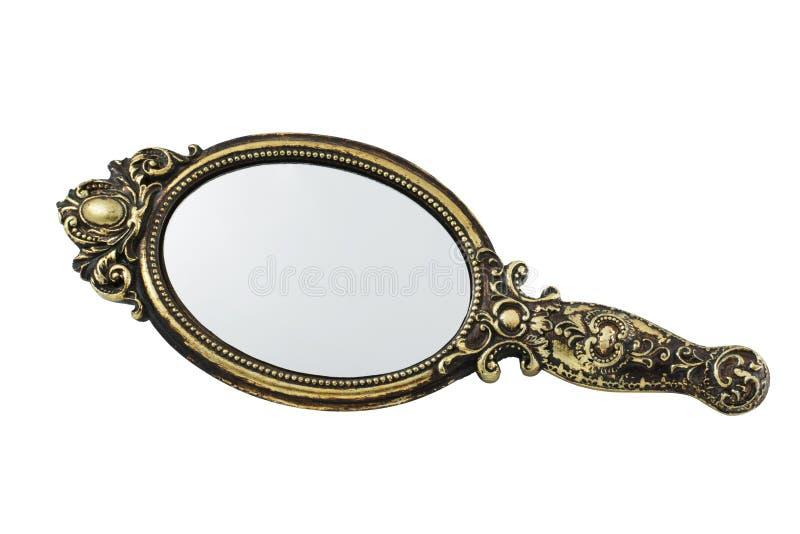 Vintage mirror royalty free stock photo