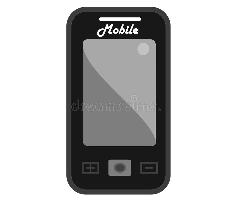 Download Vintage mobile style stock illustration. Image of icon - 28613157