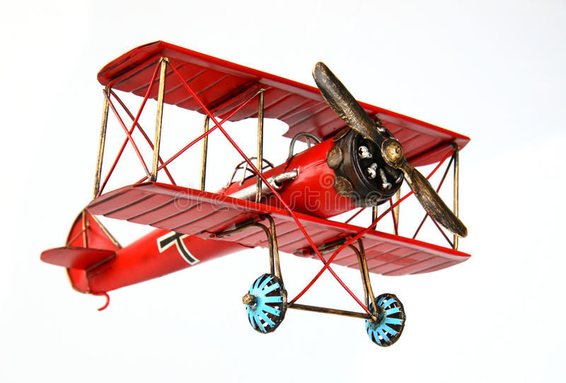 Vintage model airplane royalty free stock image