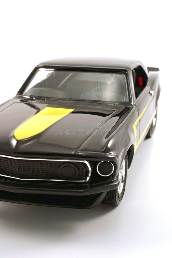 Vintage model car stock images