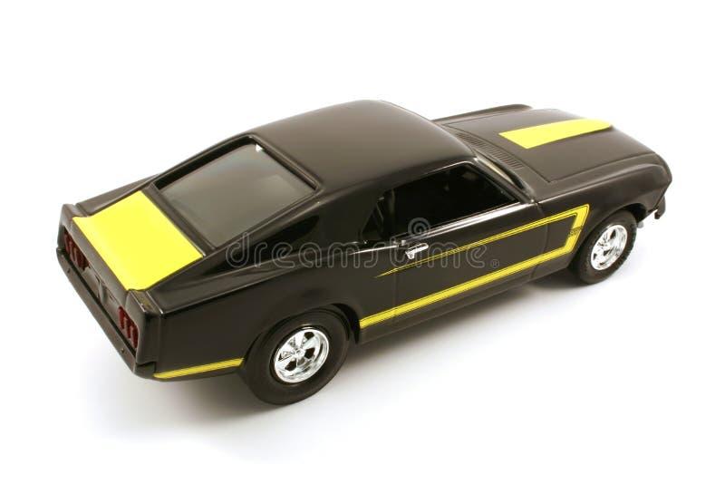 Vintage model car royalty free stock images