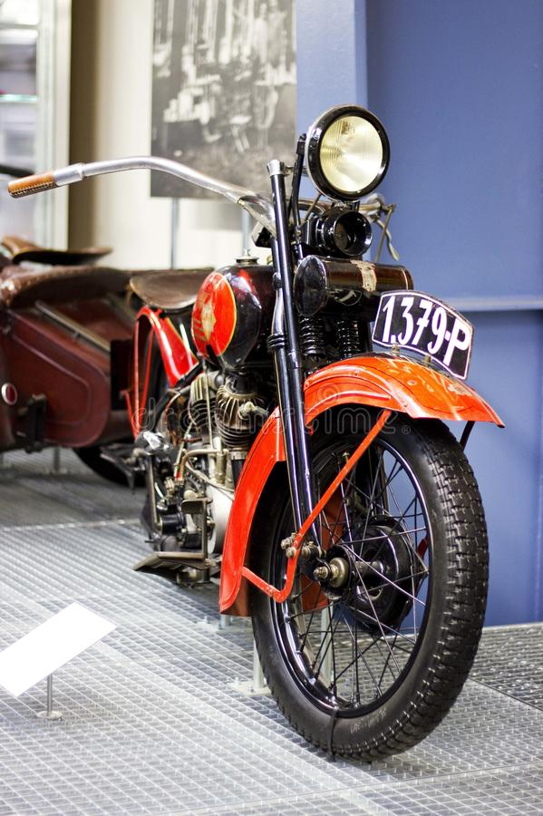 Download Vintage Model Of Motorcycle Editorial Stock Image - Image: 23546924