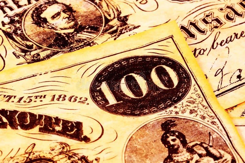 Vintage Money stock image