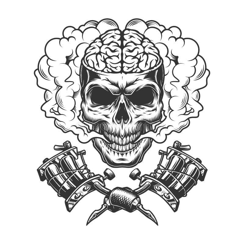 Vintage Brain Stock Illustrations – 2,297 Vintage Brain