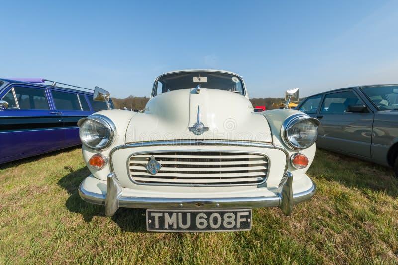 Vintage Morris Minor image stock
