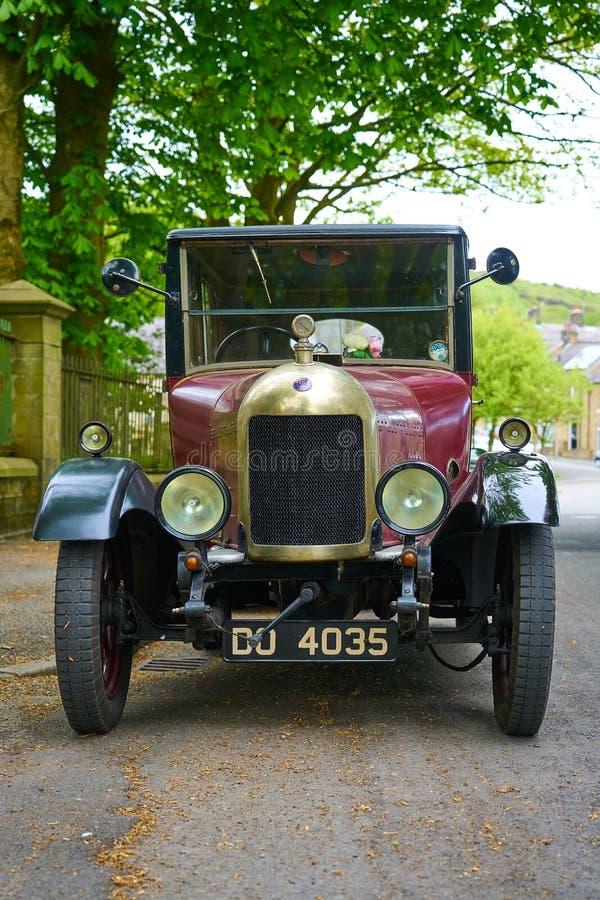 Vintage Morris Oxford Bullnose automotriz - Front View foto de archivo libre de regalías