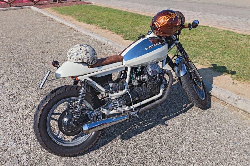 download vintage moto guzzi v35 cafe racer editorial photography image of guzzi retro - Moto Tuning