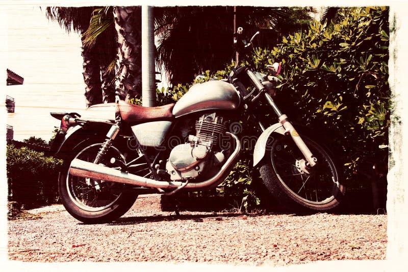Download Vintage Motorbike.jpg stock image. Image of pavement - 23561391