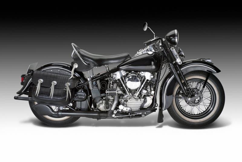 Vintage motorbike royalty free stock photography