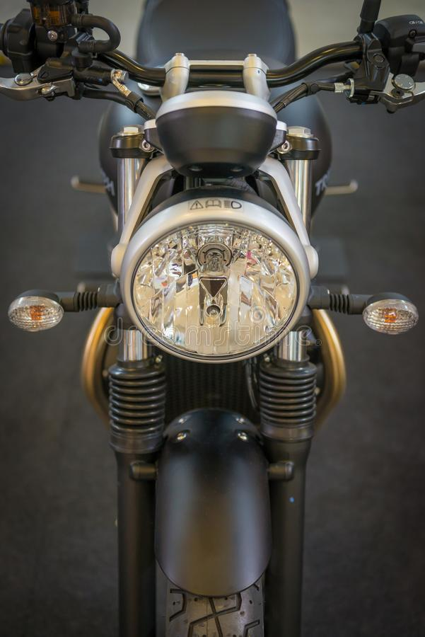 Vintage motorcycle royalty free stock images