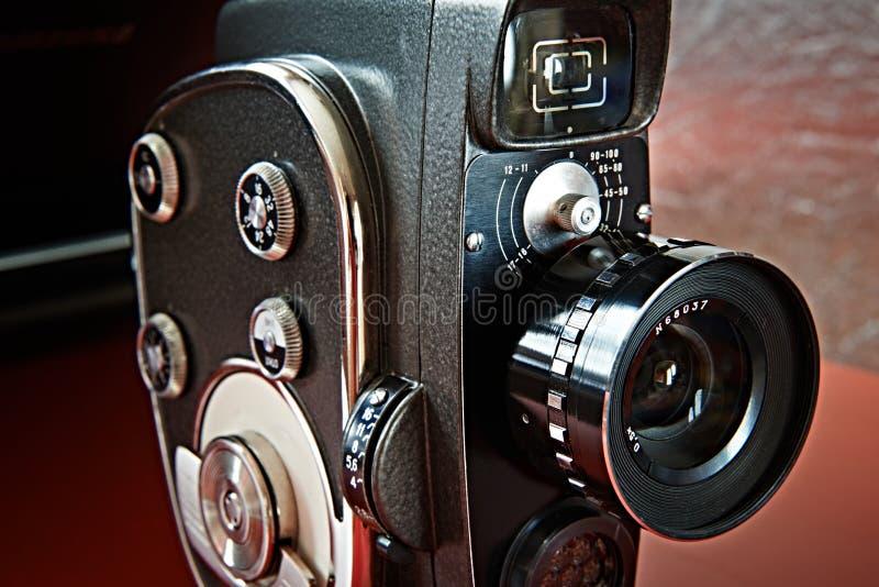Vintage movie camera stock photos