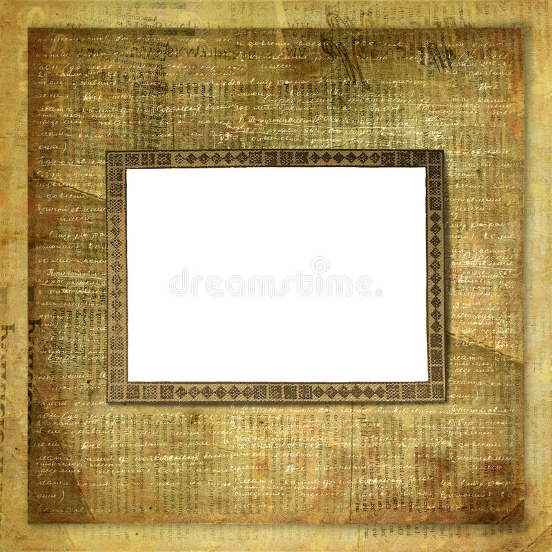 Download Vintage Newspaper Abstract Background Stock Illustration - Image: 12675067