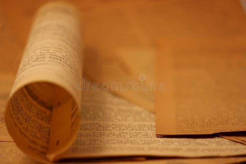 Download Vintage Newsprint Background12 Stock Image - Image of world, france: 22657569