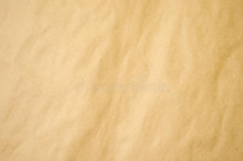 Brown old paper. Vintage paper craft background royalty free stock photos