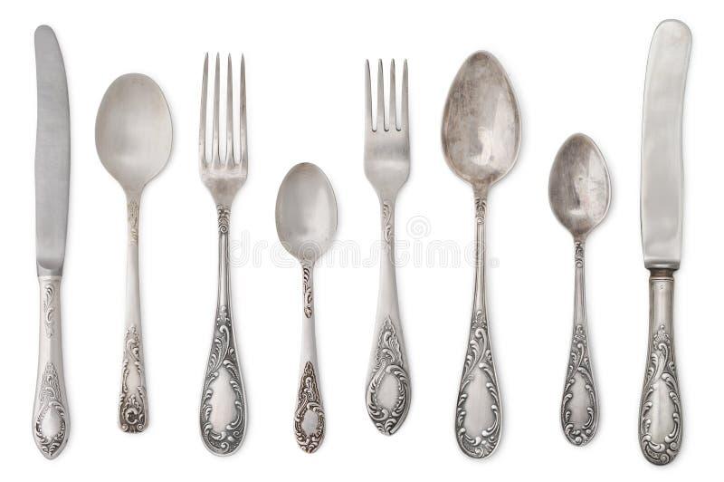 Download Vintage old cutlery stock photo. Image of serve, dinner - 34015432