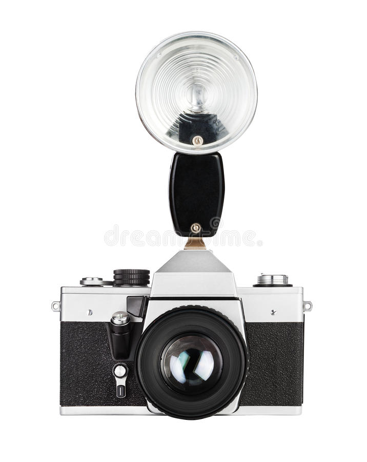 Download Vintage Old Film Photo-camera Stock Image - Image: 32049363