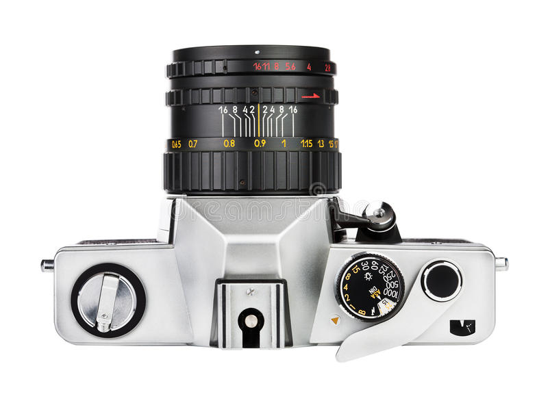 Download Vintage Old Film Photo-camera Stock Image - Image of device, copy: 32049483