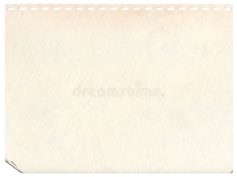 Vintage old page from a notebook background royalty free stock photo