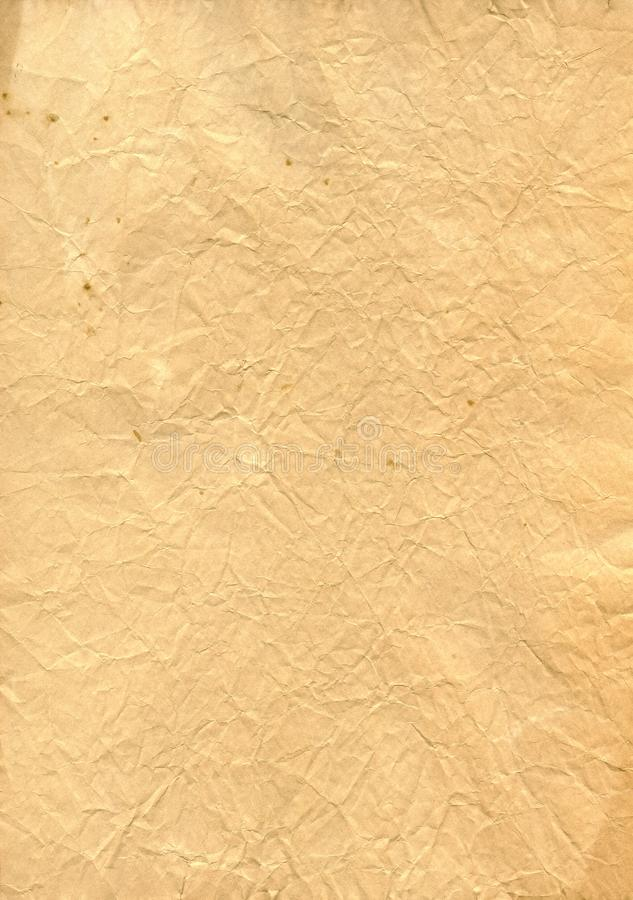 Vintage old retro ripped paper royalty free stock photo