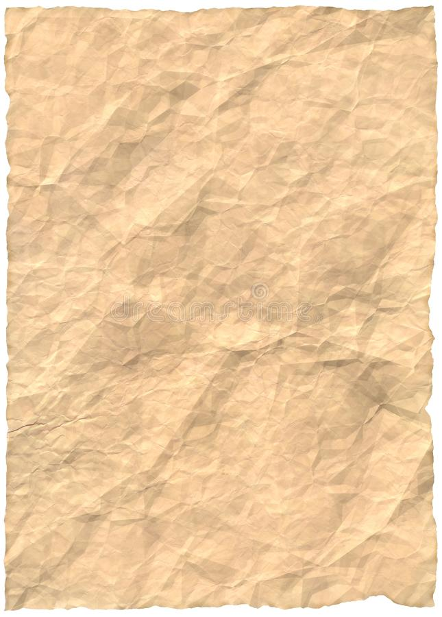 Vintage old retro ripped paper royalty free stock photography